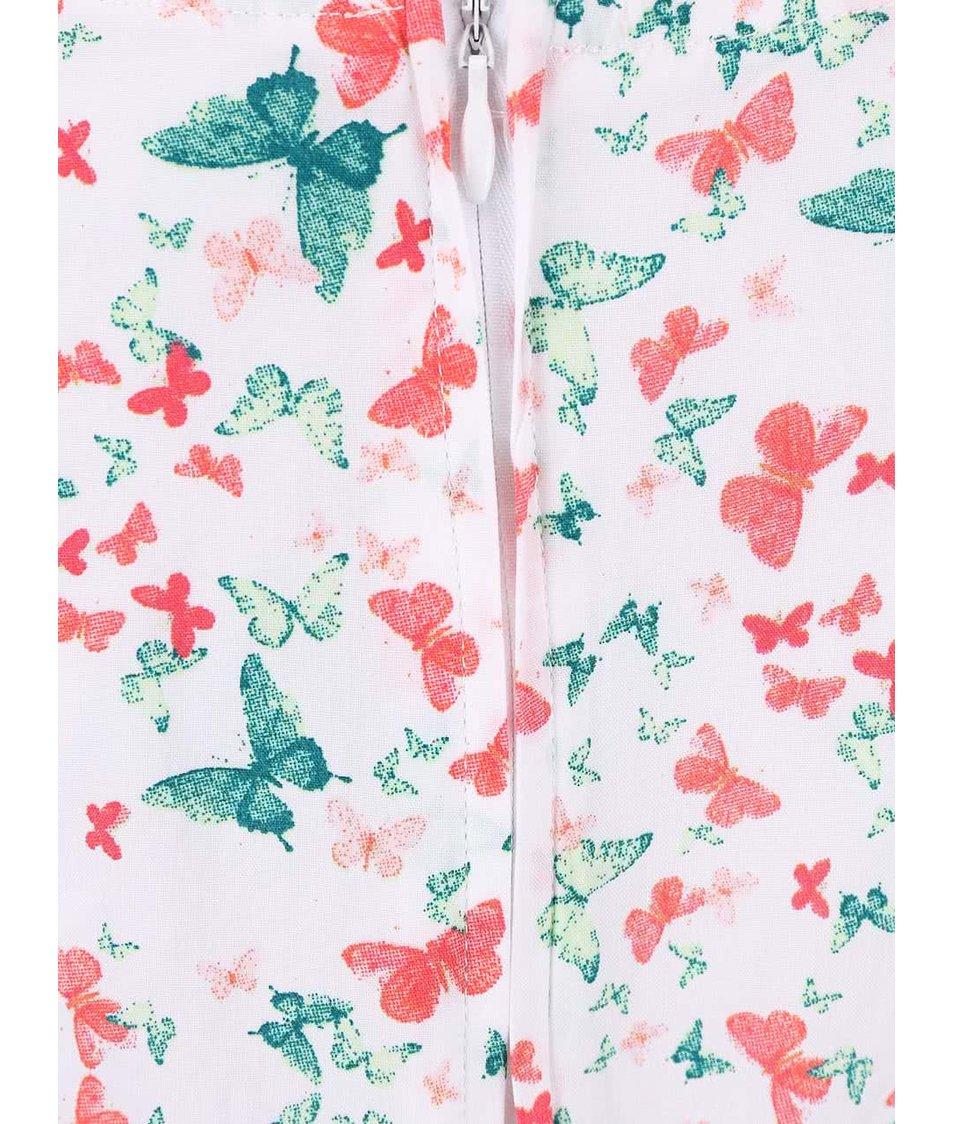 Barevné holčičí šaty s motýlky name it Valaia