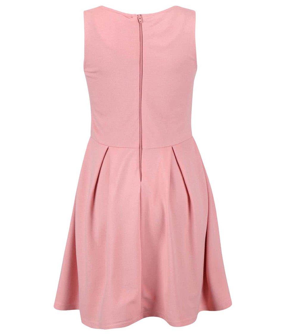 Růžové holčičí šaty name it Gadora