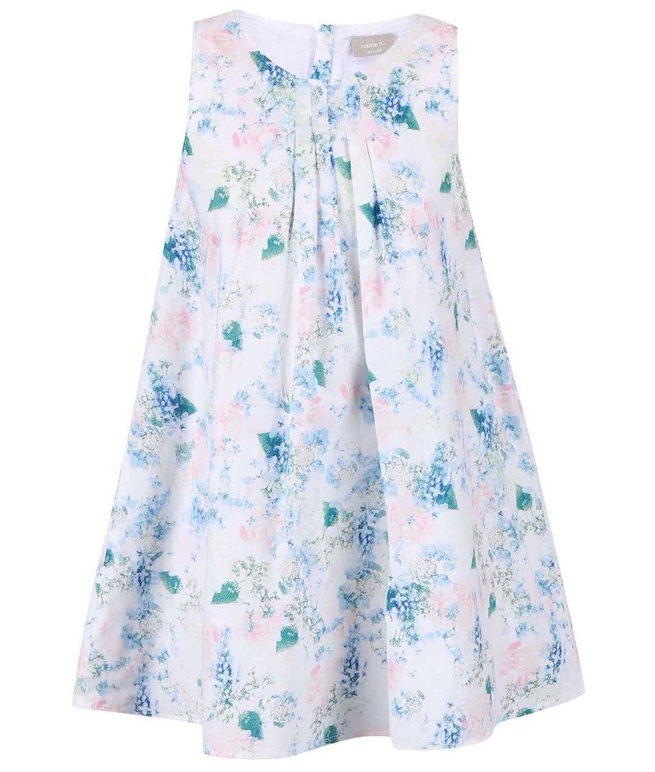 Barevné holčičí šaty s květinovým vzorem name it Valaia