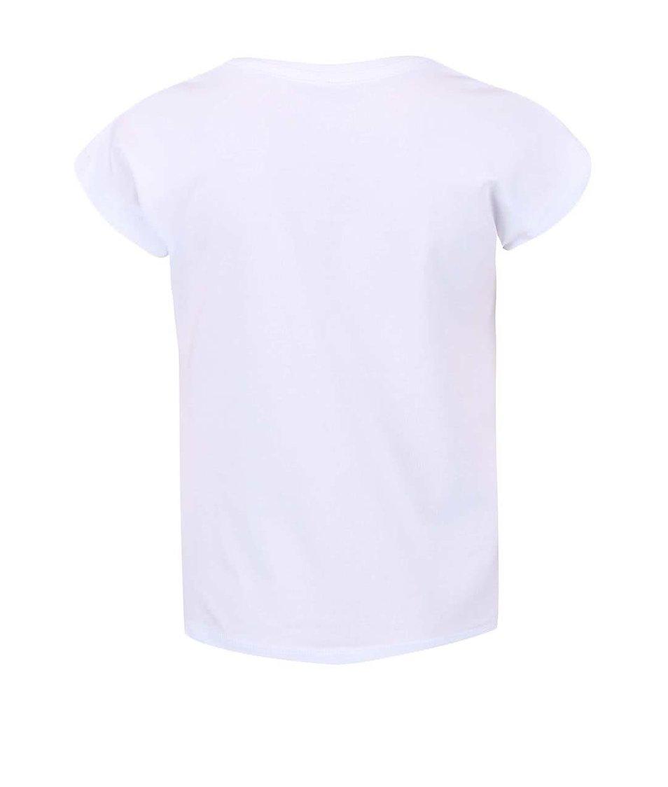 Bílé holčičí triko s potiskem rybky name it Gea