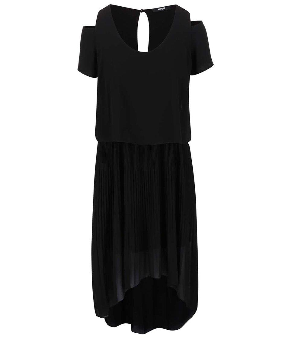 Černé šaty Alchymi