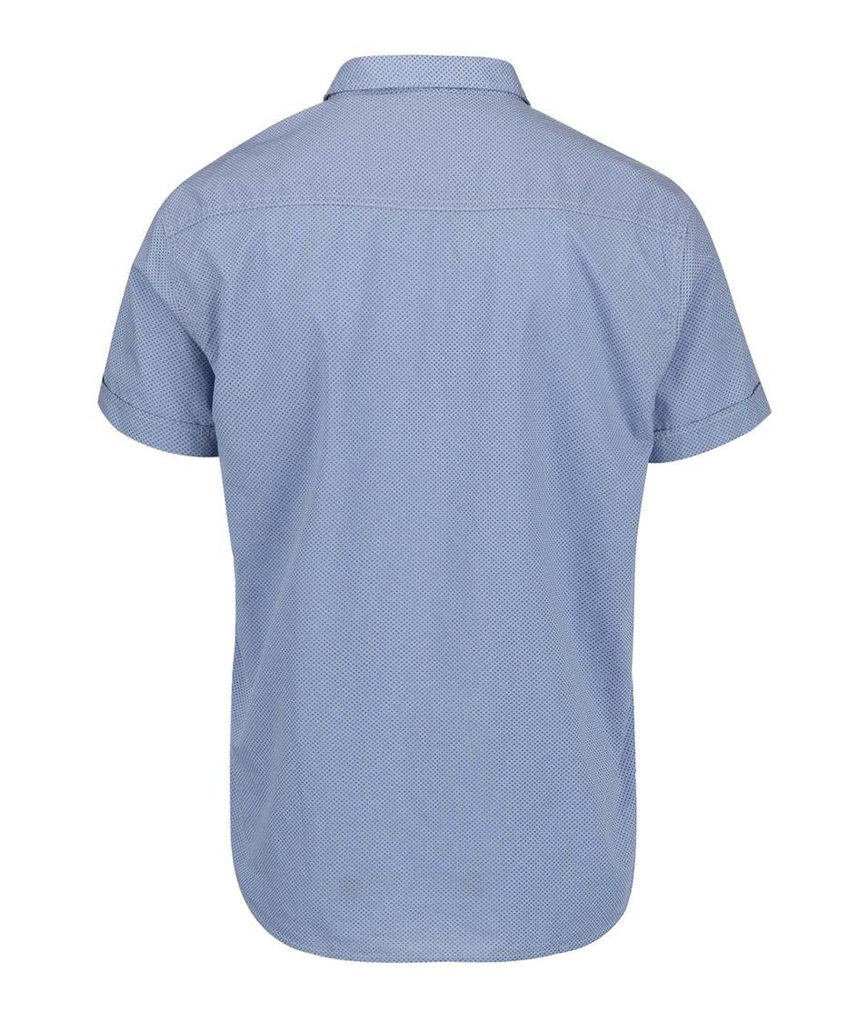 Světle modrá pánská košile s krátkým rukávem Broadway Eugen