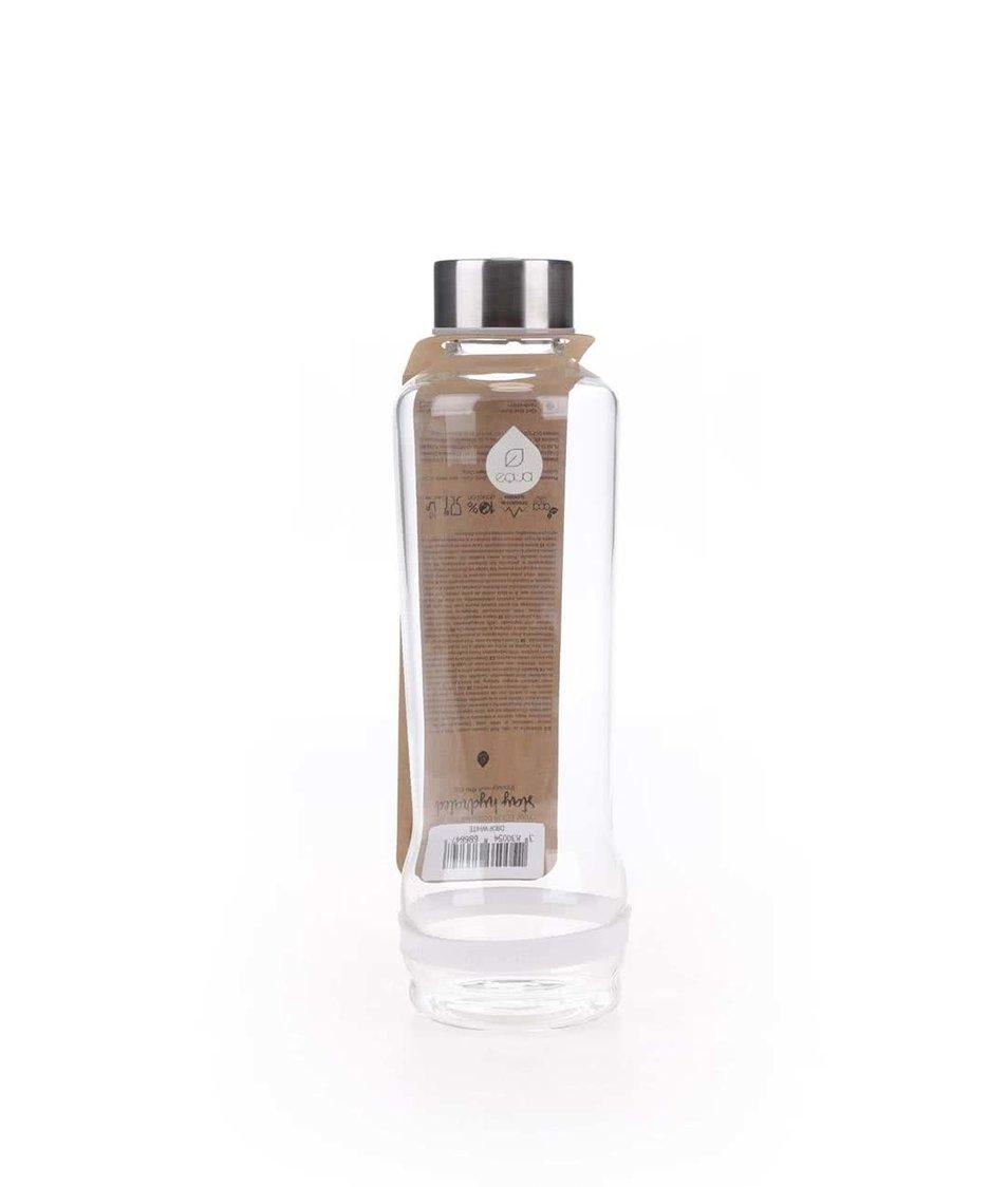 Skleněná láhev s bílým proužkem EQUA (570 ml)