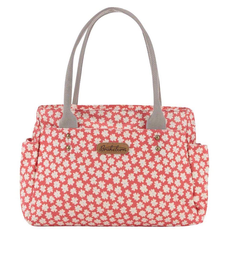Korálová květovaná taška Brakeburn Delicate Daisy