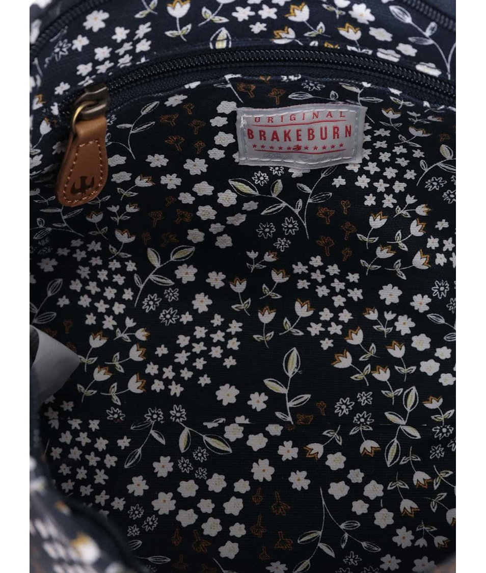 Tmavě modrá kosmetická taška Brakeburn Floral