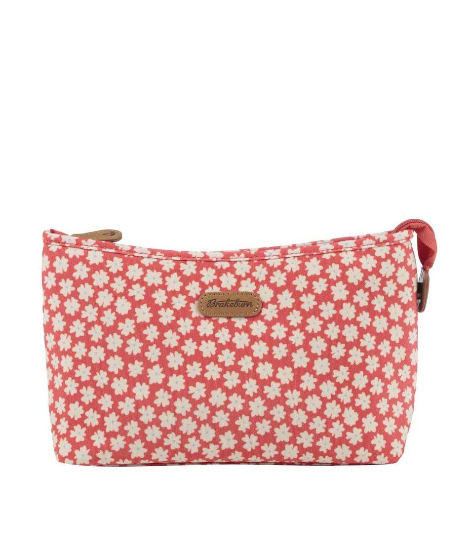 Korálová kosmetická taška Brakeburn Delicate Daisy