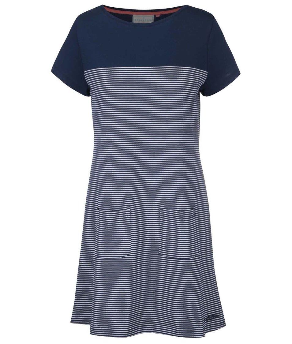 Tmavě modré pruhované šaty Brakeburn Nautical