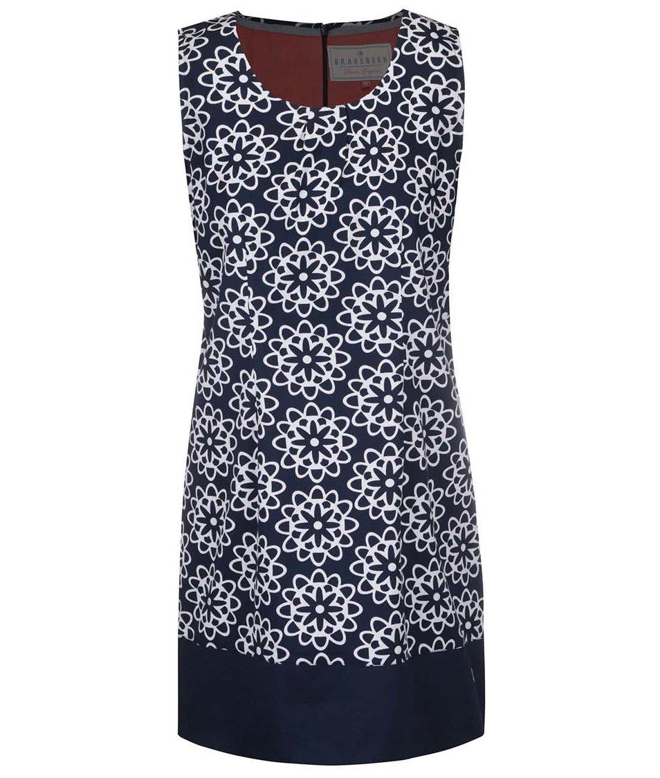 Tmavě modré vzorované šaty Brakeburn Tile