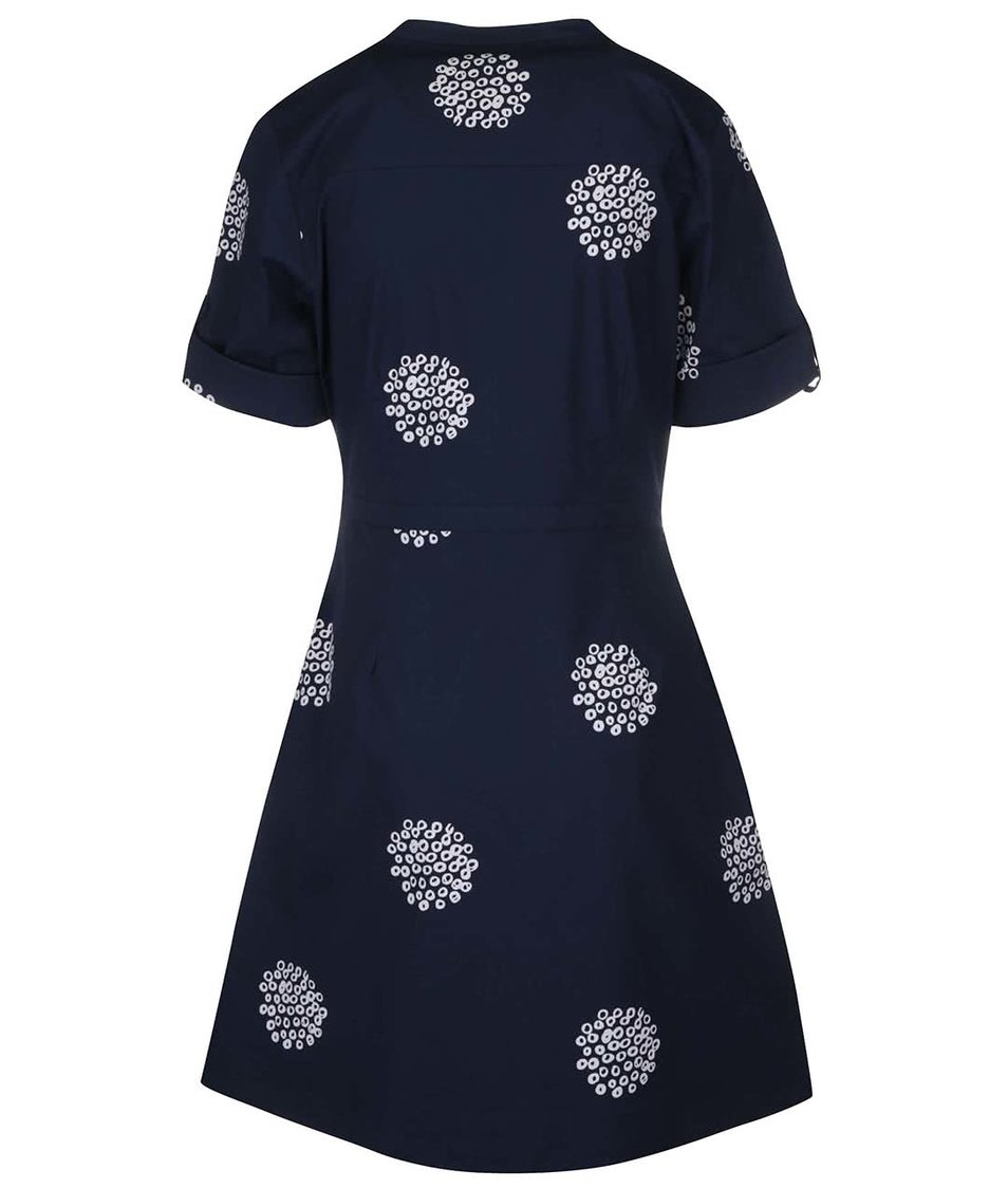Tmavě modré košilové šaty Brakeburn Polka