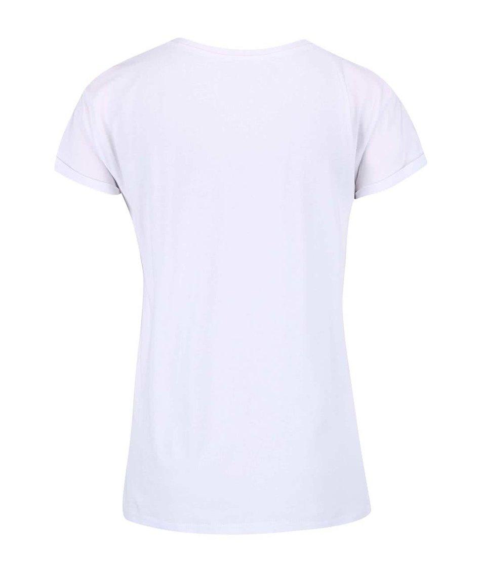 Bílé dámské tričko Pepe Jeans Glazie
