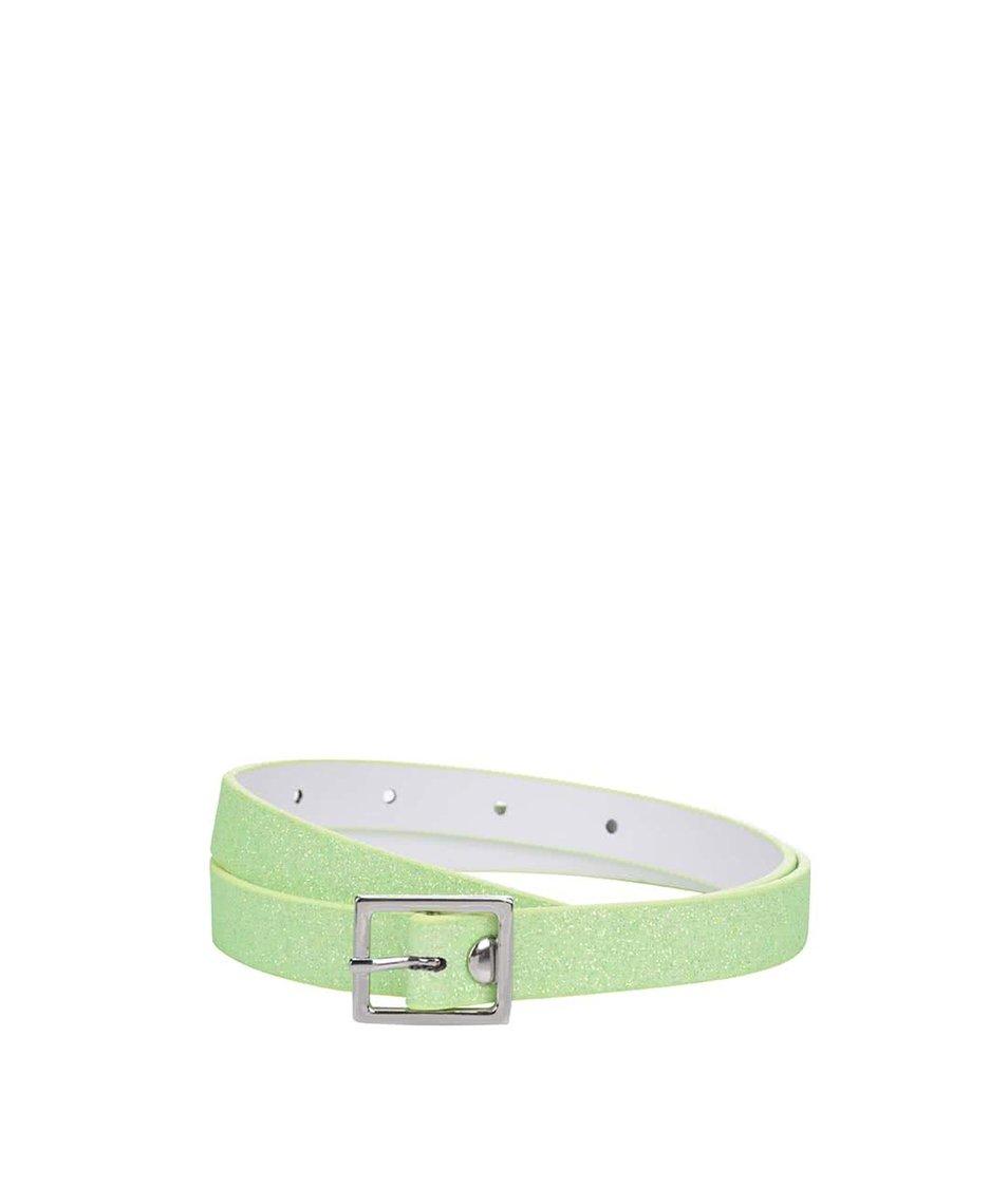 Zelený třpytivý holčičí pásek name it Angilic