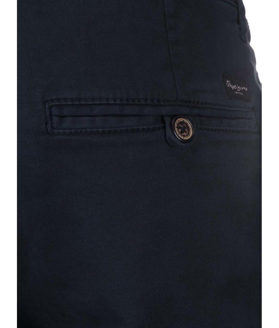 Tmavě modré pánské kraťasy Pepe Jeans McQueen