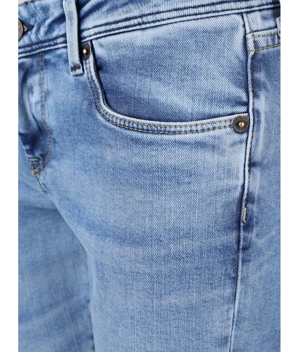 Světle modré dámské slim fit džíny Pepe Jeans Cher
