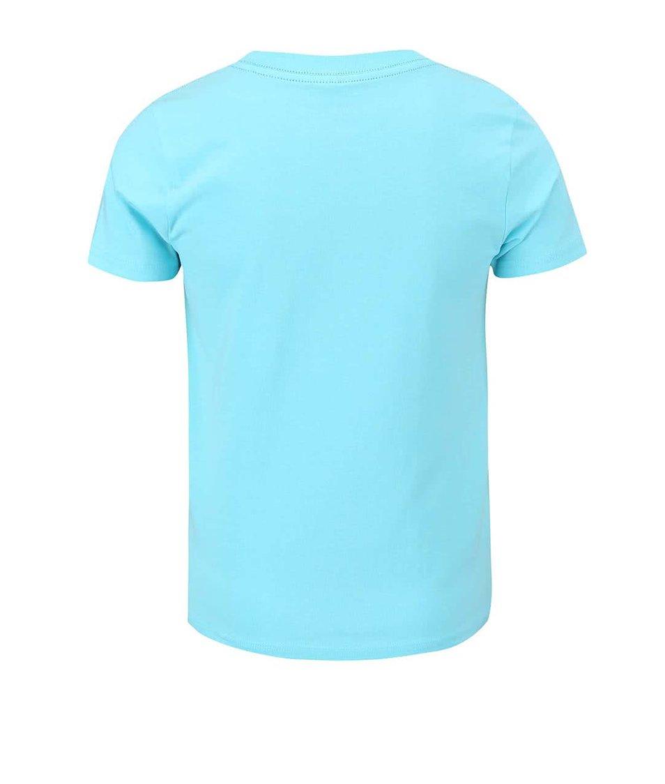 Modré klučičí triko s potiskem name it Pads