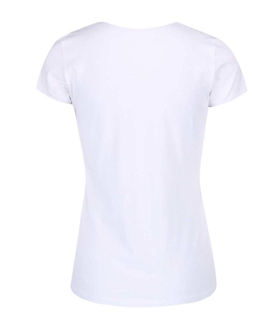 Bílé tričko Pepe Jeans Valerie