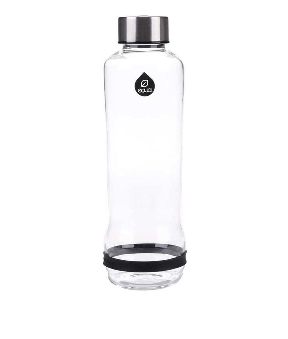 Skleněná láhev s černým proužkem EQUA (570 ml)