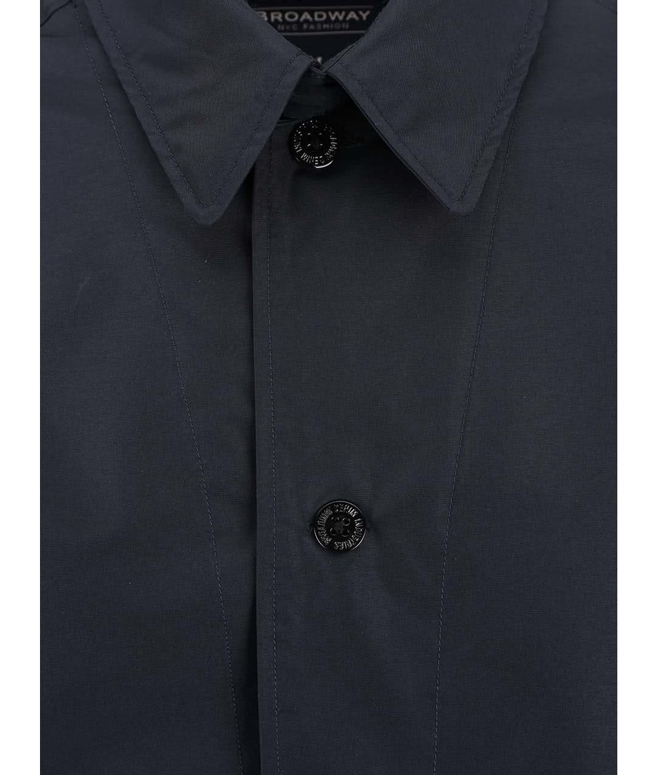 Tmavě modrý pánský kabát Broadway Denny