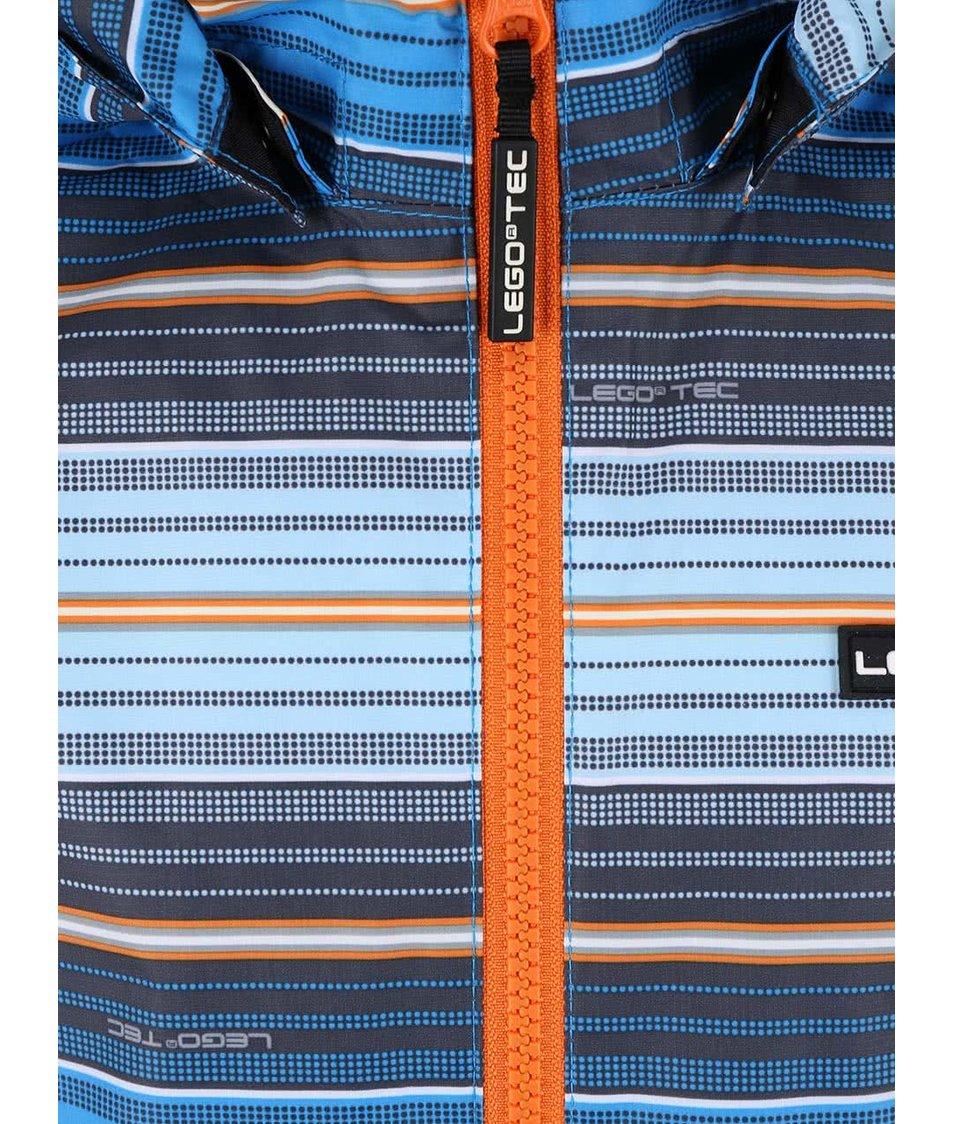 Modrá klučičí bunda LEGO Wear Jadon