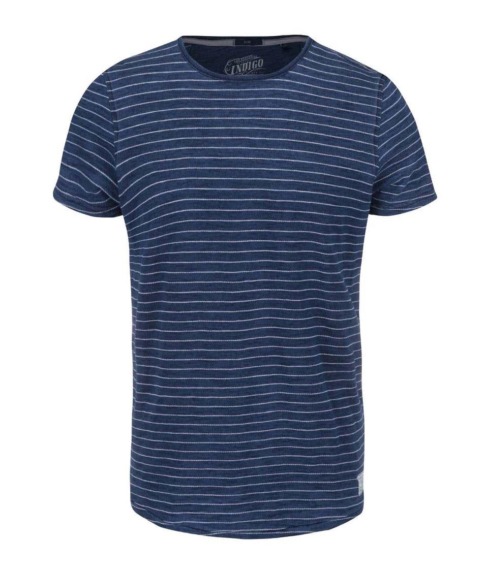 Bílo-modré pánské triko Pepe Jeans Armadale