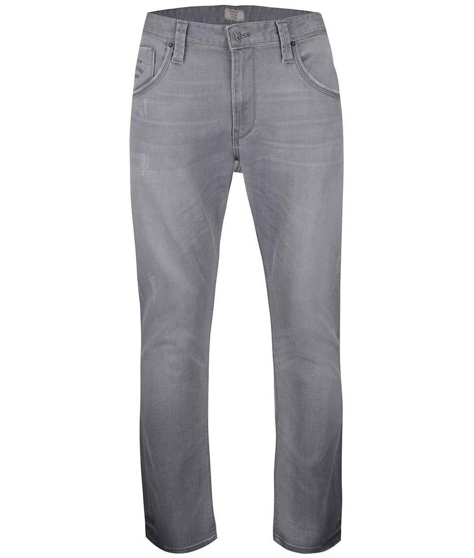 Šedé pánské slim džíny Pepe Jeans Zinc