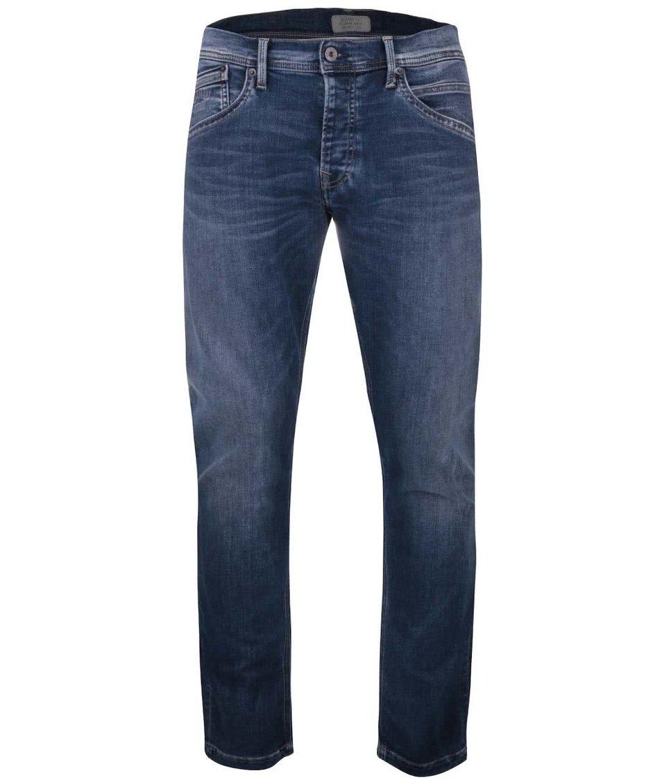 Modré pánské rovné džíny Pepe Jeans Track