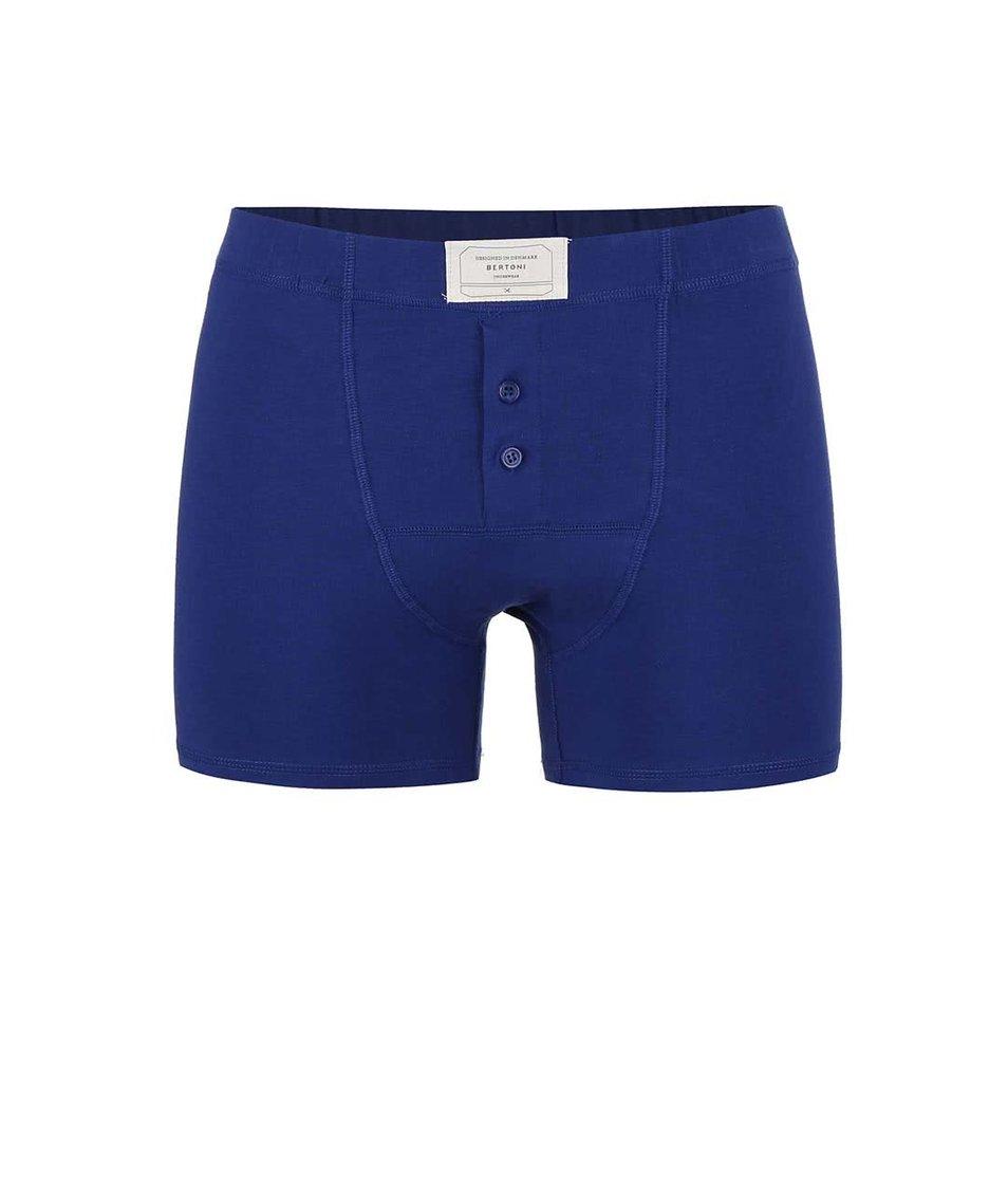 Tmavě modré denimové boxerky Bertoni Bo