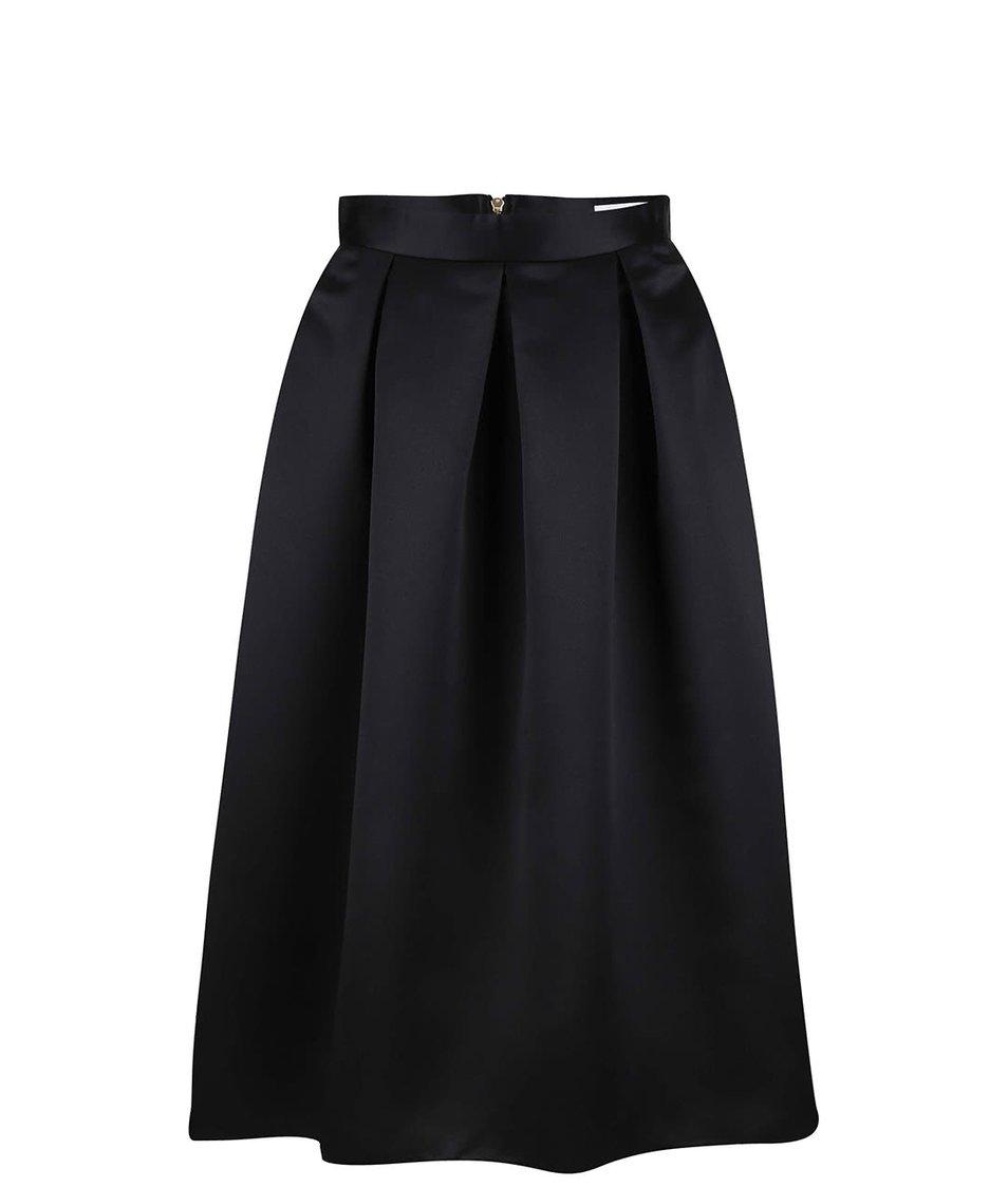 Černá midi sukně Closet