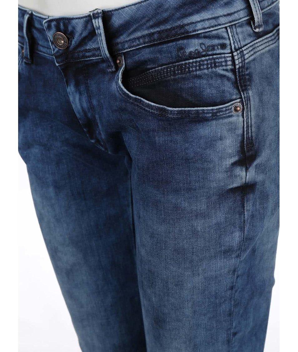 bf8022928e0 Modré dámské slim fit džíny s nízkým pasem Pepe Jeans Ariel - SLEVA ...