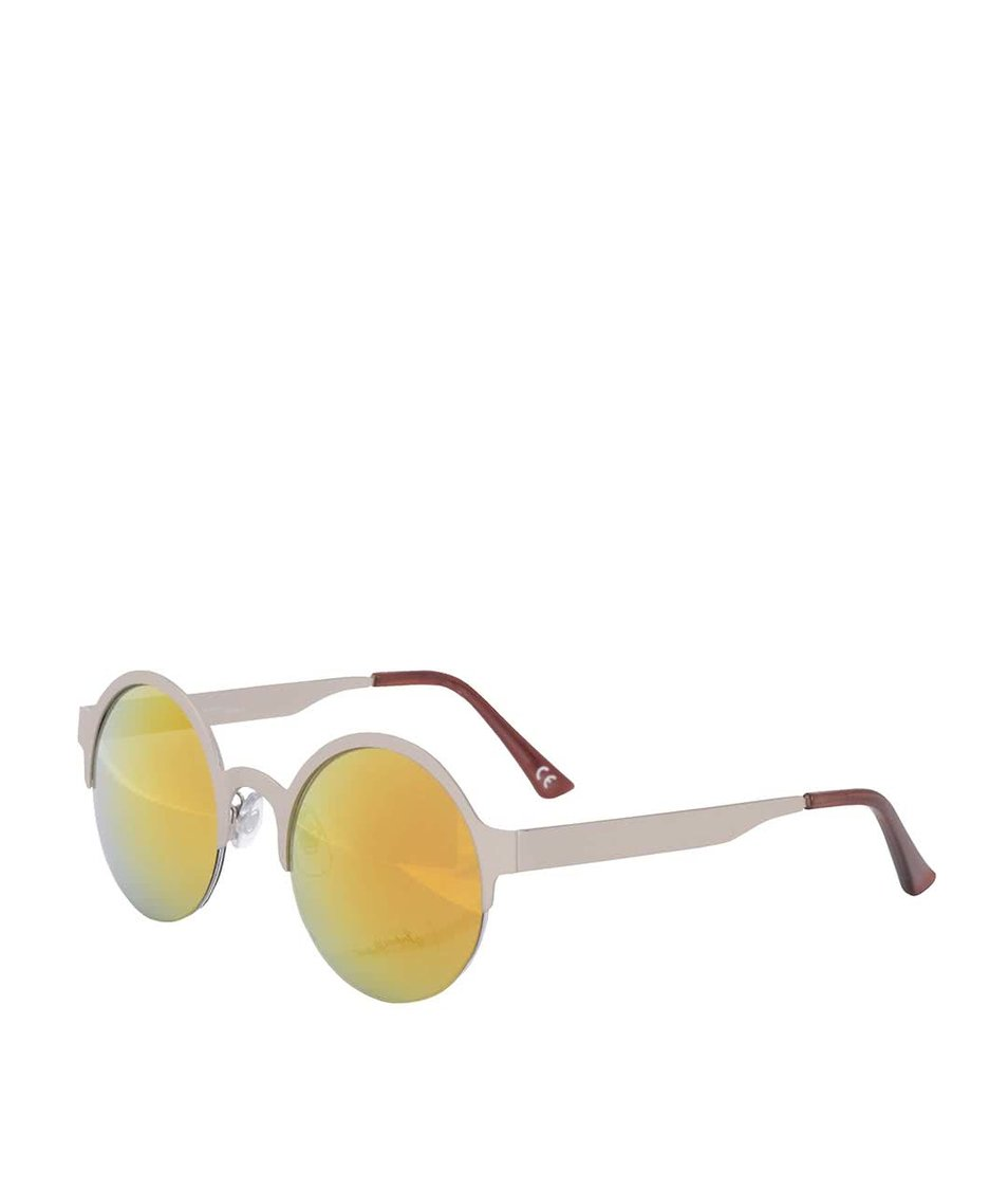 Dámské sluneční brýle ve stříbrné barvě Jeepers Peepers
