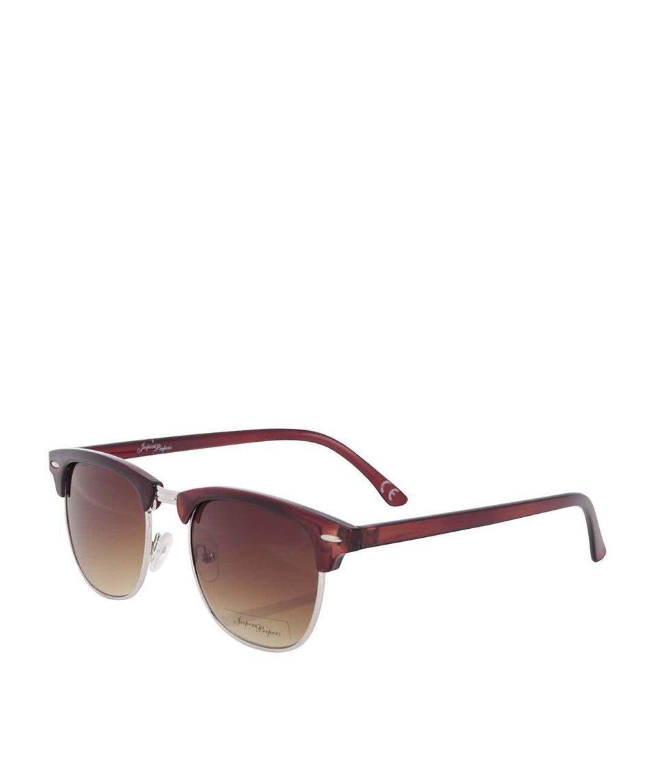 Hnědé dámské sluneční brýle Jeepers Peepers