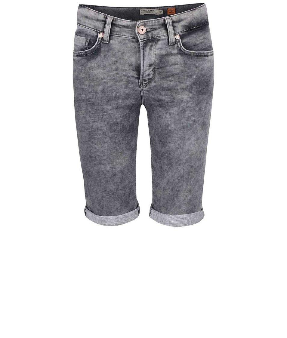 Šedé klučičí džínové kraťasy Cars Jeans Atlanta