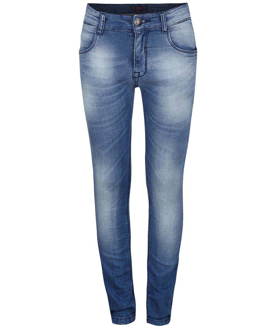 Modré klučičí džíny s vyšisovaným efektem Cars Jeans Cratter