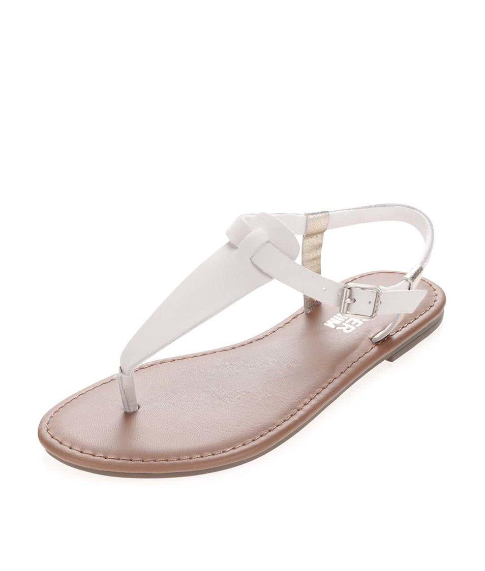 da377c5ac20 Lososové dámské bavlněné boty na klínku Tommy Hilfiger (2 529 Kč). Bílé  dámské kožené sandálky se zlatými detaily Tommy Hilfiger