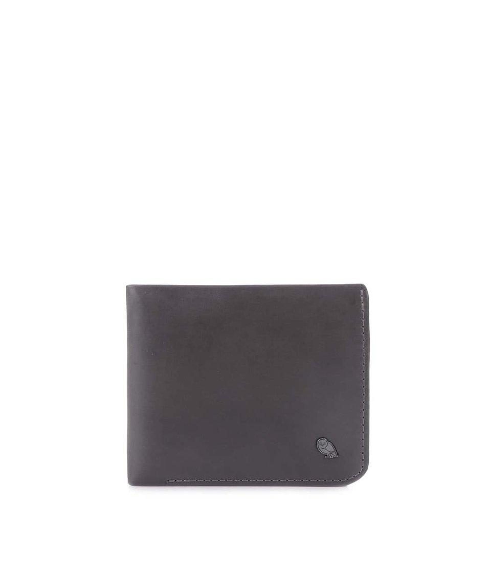 Tmavě šedá kožená peněženka Bellroy Hide & Seek