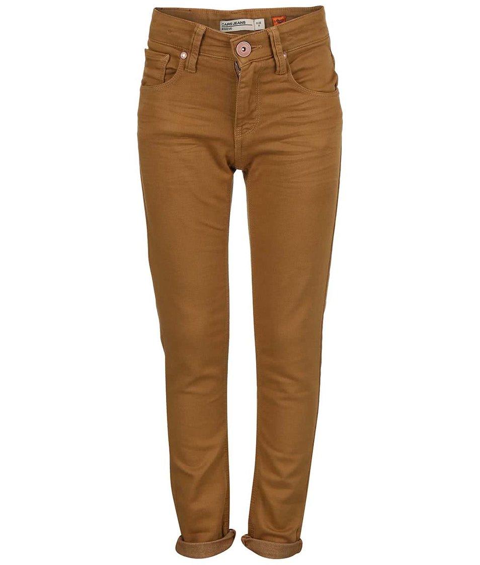 Hnědé klučičí džíny Cars Jeans Chievo