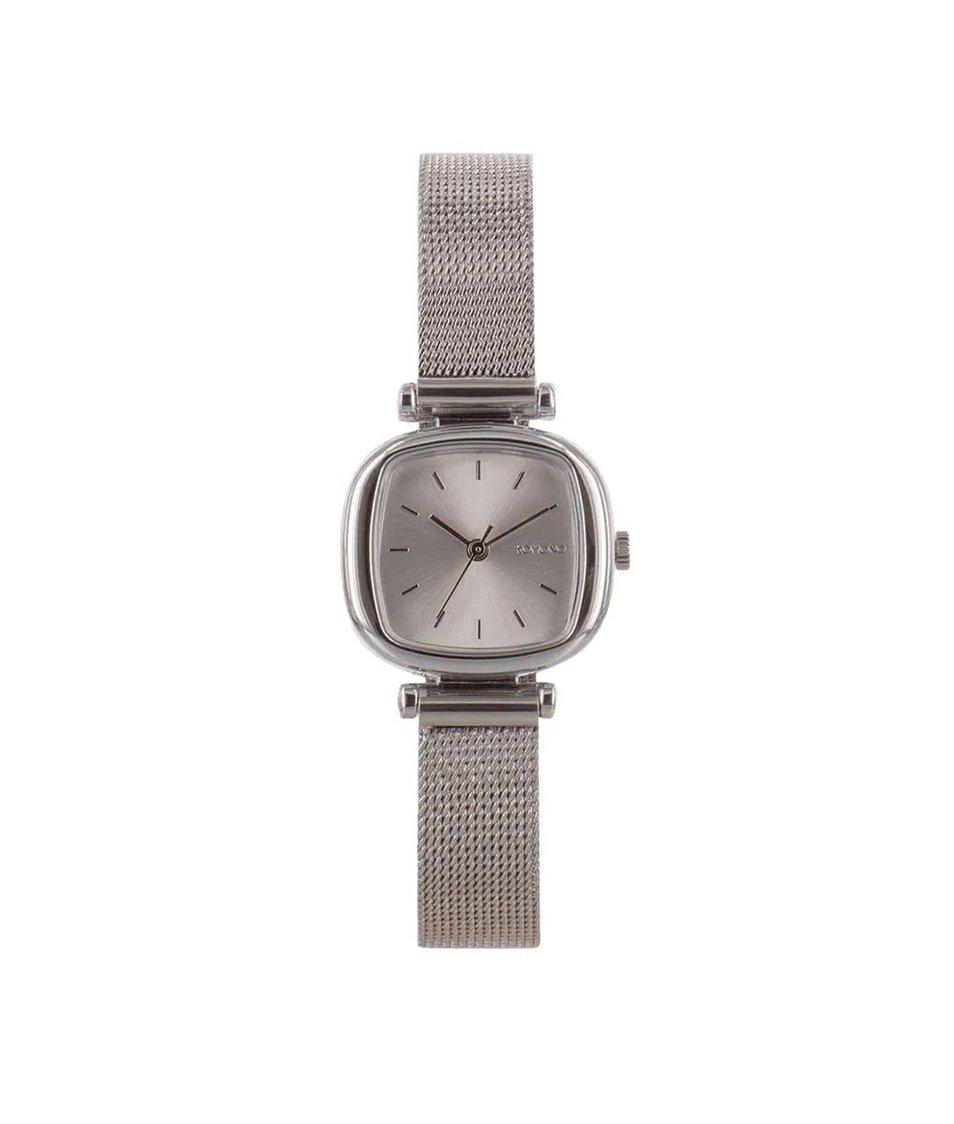 Dámské hodinky ve stříbrné barvě Komono Moneypenny Royale Silver