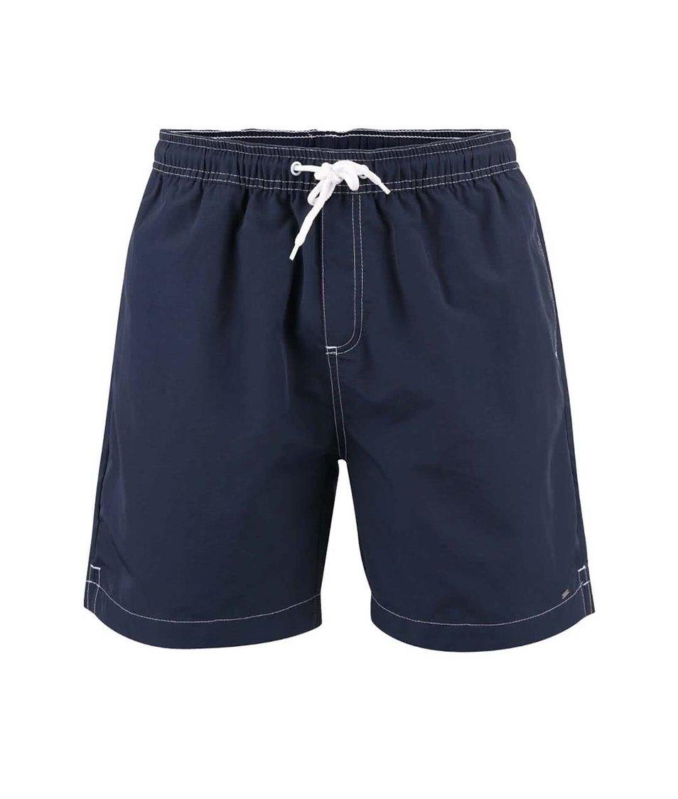 Modré plavky s detaily v bílé barvě !Solid Ingano