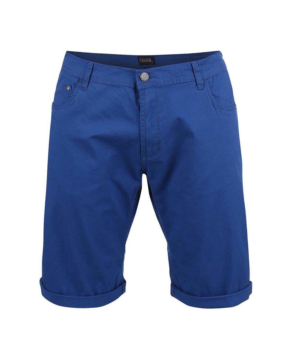 Modré kraťasy !Solid Lt Nubu Stretch