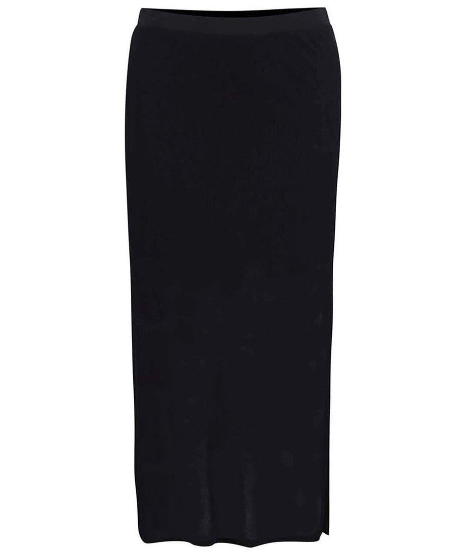 Černá sukně s rozparky Bench Believer
