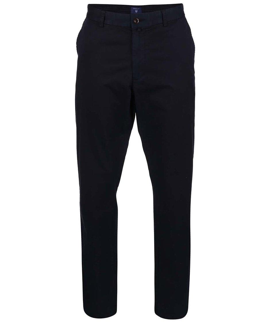 Tmavě modré pánské chino kalhoty GANT