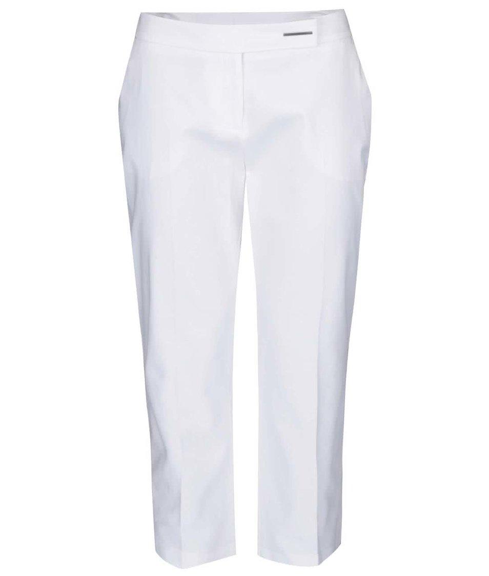 Bílé osminkové kalhoty Dorothy Perkins