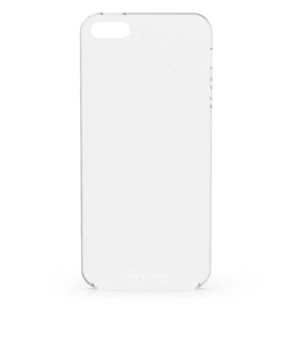 Transparentní ultratenký obal na iPhone 5/5S/SE Happy Plugs