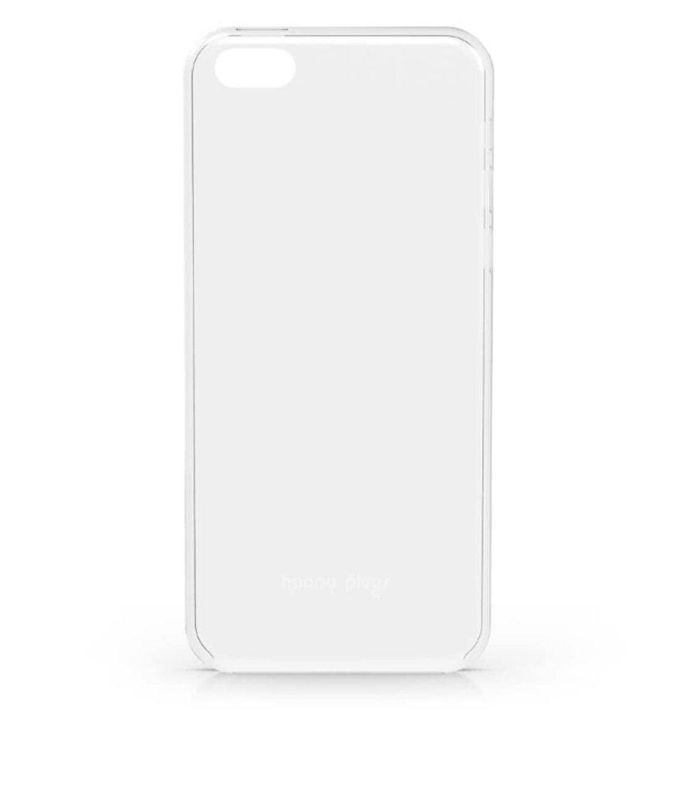Transparentní ultratenký obal na iPhone 5C Happy Plugs
