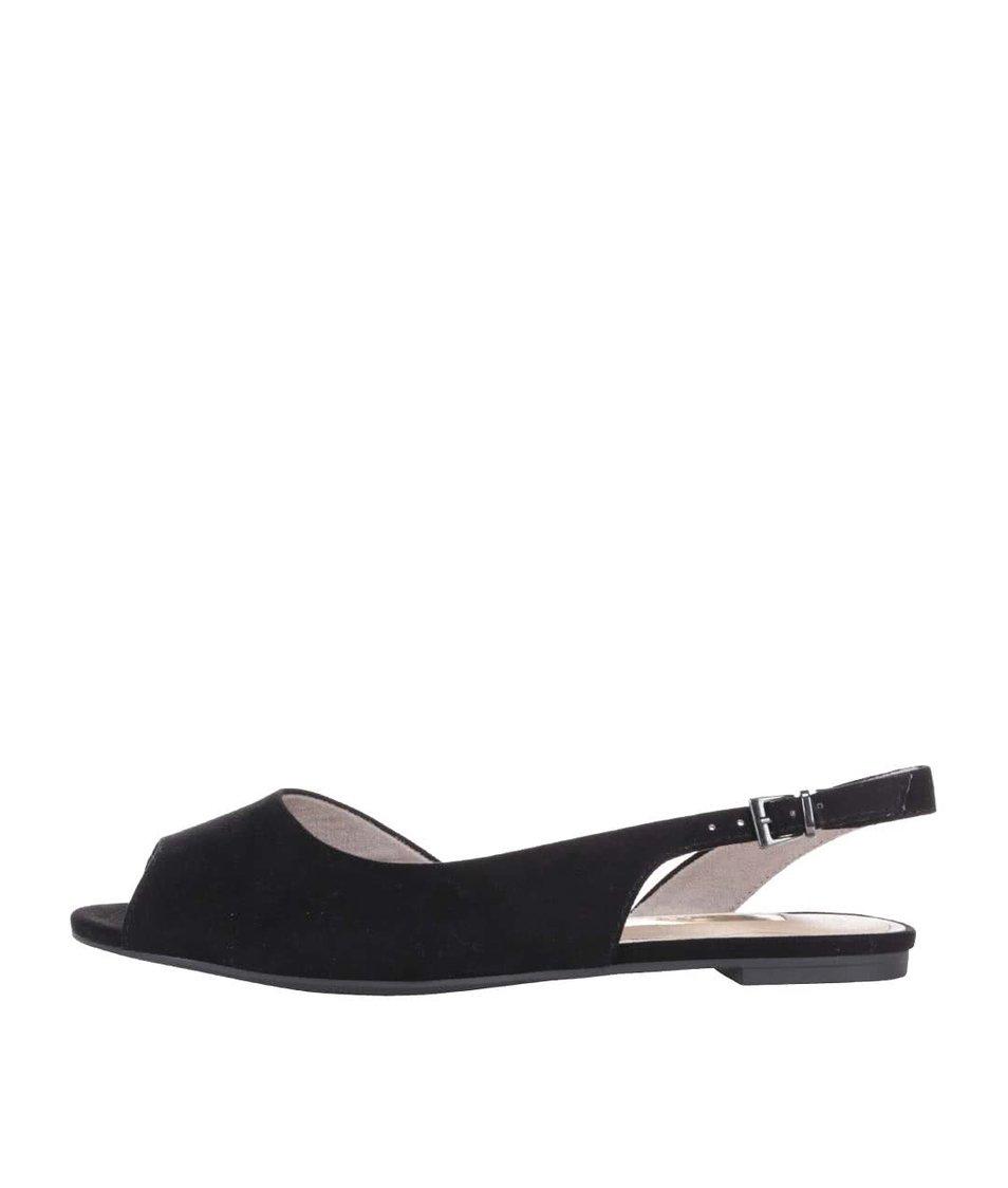 Černé sandálky Tamaris
