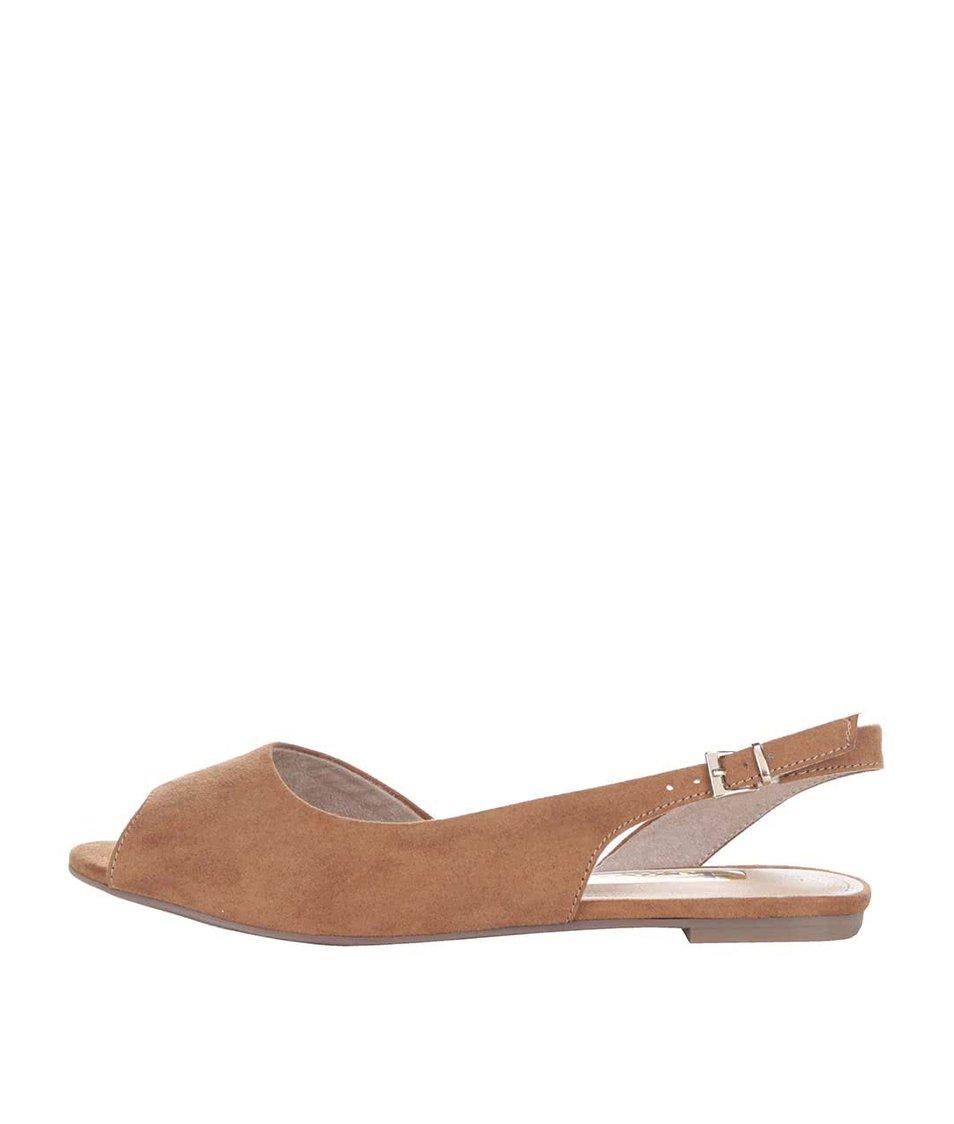 Hnědé sandálky Tamaris