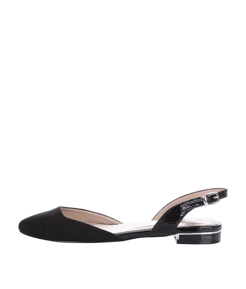 Černé sandály s uzavřenou špičkou ALDO Winiger