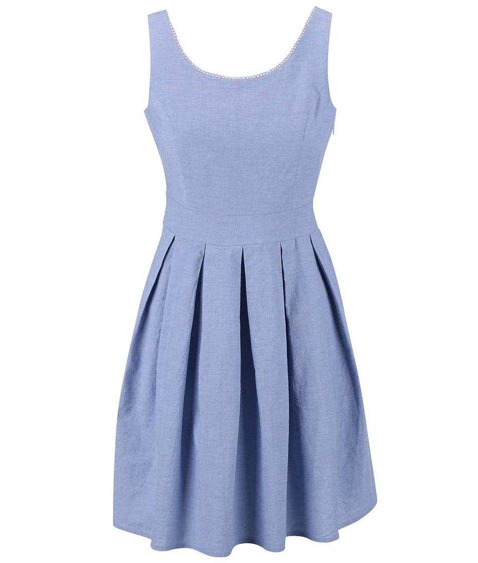 Světle modré šaty Fever London Alabama