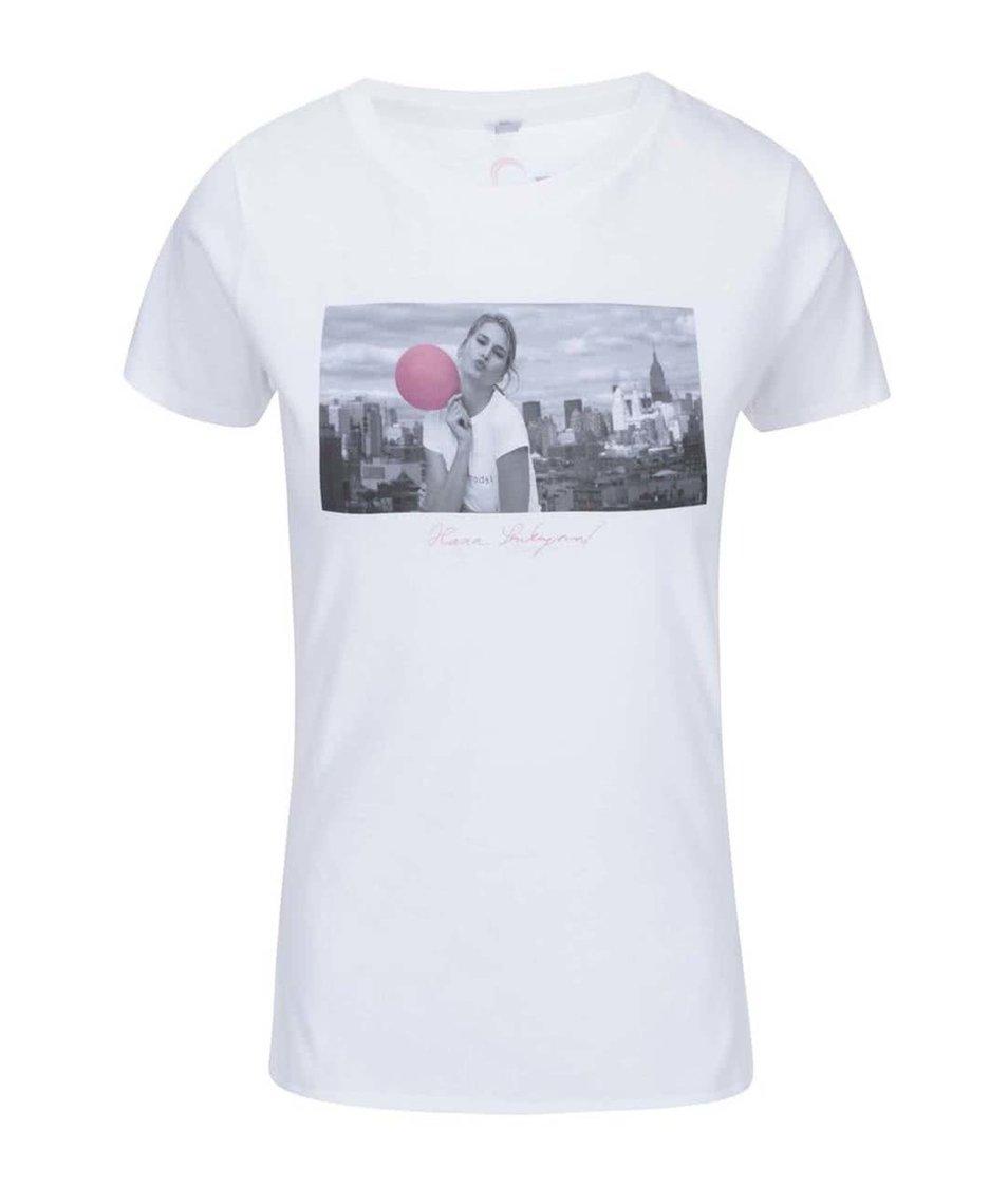 """""""Dobré"""" bílé dámské tričko pro Pink Bubble Hana Soukupová"""