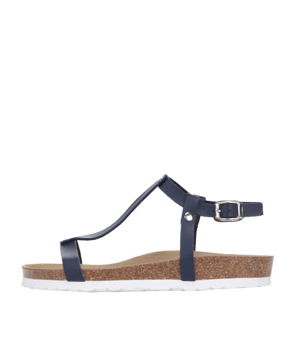 Tmavě modré dámské sandály OJJU