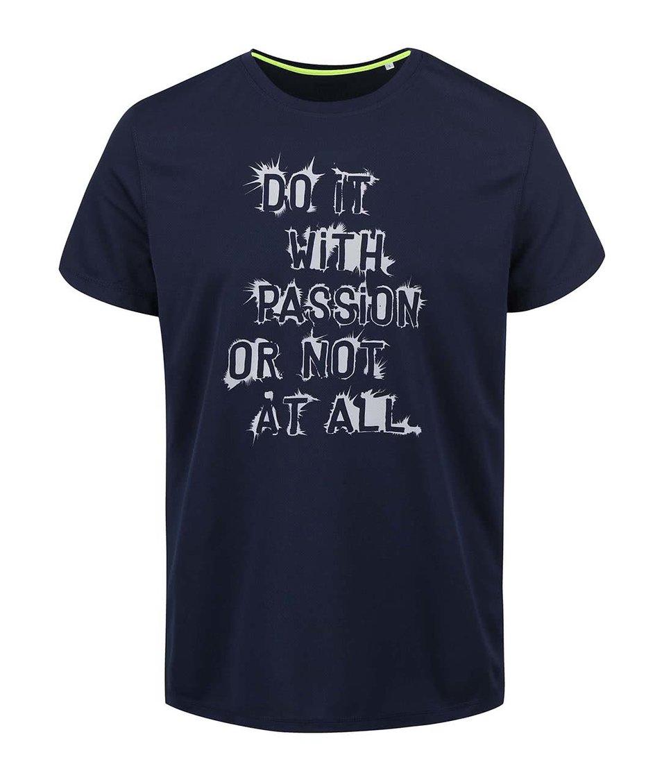 Tmavě modré pánské funkční triko ZOOT Originál Passion 56997a25b0